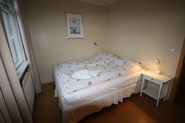 A double room with a double bed.